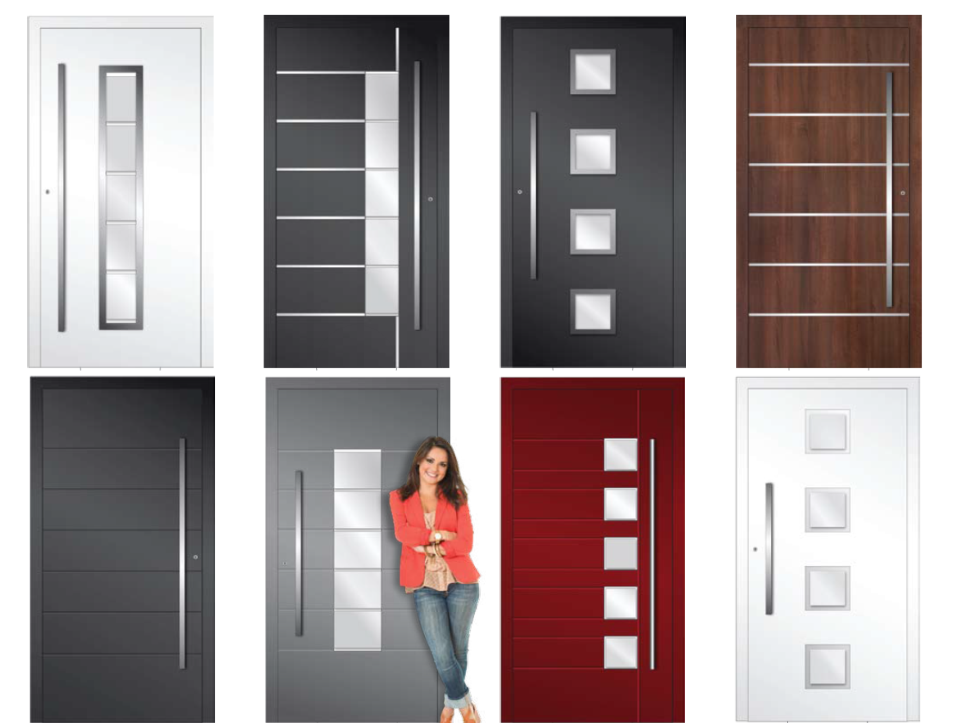 selection of front panel doors