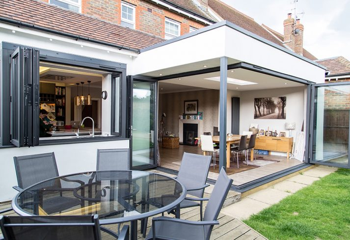 Aluminium Bi-fold Doors and Windows