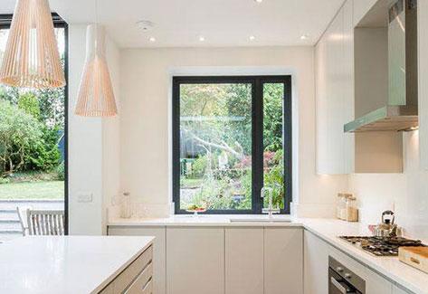 slimline window kitchen