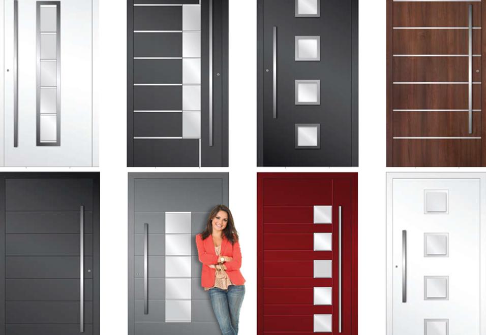 Aluminium Front Door colours