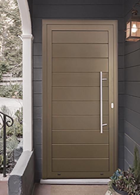Aluminium Single Front Door